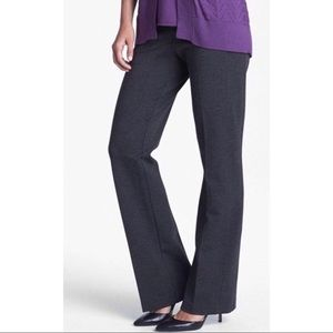 NYDJ Stretchy High Rise Ponte Knit Bootcut Pants